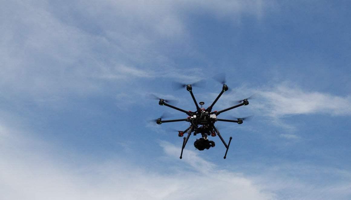 航拍测绘无人机