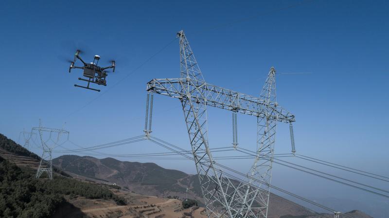 电力巡检无人机