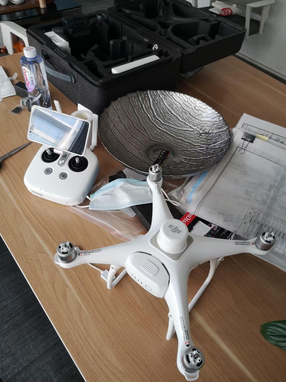 大疆测绘无人机交付使用 大疆多轴测绘无人机 精灵4RTK测绘无人机